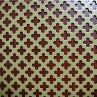 铜板冲孔网用途