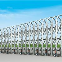 专业生产制作不锈钢电动伸缩门C006钻石网花