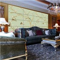 供应酒店软包壁画厂家 宾馆背景墙硬包喷绘