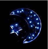LED 星星月亮灯