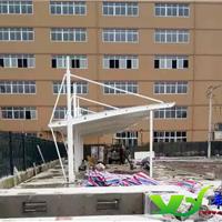 台州温州希运膜结构张拉膜停车棚