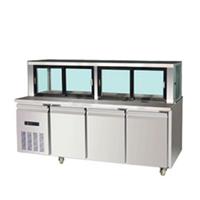 供应不锈钢标准型工作台沙律冷柜