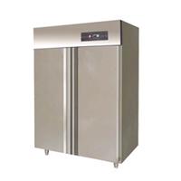 供应不锈钢标准型双大门风冷立式冰箱