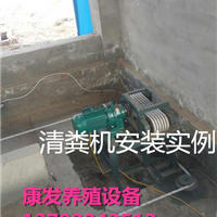 供应养鸡场专用一带二自动清粪机