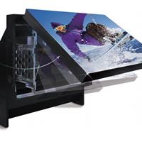 无缝大屏幕原理 激光光源高清  50寸DLP背投