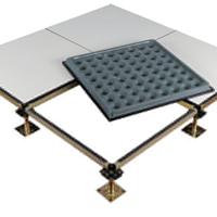 中通600mm防静电瓷砖贴面钢质水泥地板