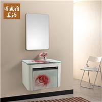 不锈钢浴室柜组合一体洗手盆卫生间洗脸盆