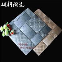 仿钢板砖 600 地板砖 佛山瓷砖 金属釉面