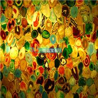 天然玛瑙透光板,半宝石板,红玉玛瑙