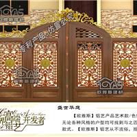 东莞铸铝欧式大门、中式庭院门定制