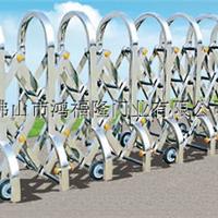 大量供应不锈钢伸缩门高速路障