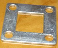 优质锌钢护栏配件专供―方管镀锌正底板