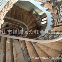 精品艺术楼梯扶手 精湛工艺铝雕花护栏
