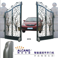 重庆铸铁大门阿尔卡诺电动平开门机