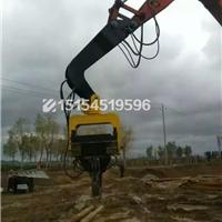 供应挖掘机液压打桩机打桩锤震动打桩锤