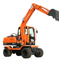 供应新源挖掘机XY65W-8轮式挖掘机