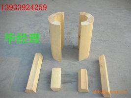 防震管道木垫