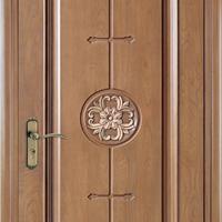 供应大浩湖原木门,实木雕花房间门。