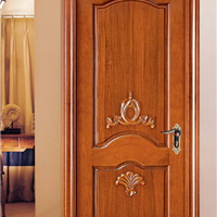供应大浩湖原木门,原木雕花房间门。