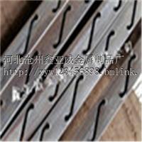 供应锌钢百叶窗冲孔型材