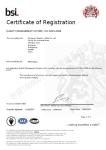 ISO9001 品质管理系统证书