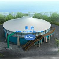 污水池盖板|污水池加盖膜结构|首选奥宏