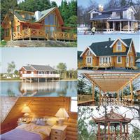 木屋木别墅木房子木结构房屋小木屋木屋会所