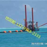 湖北武汉挖泥船进台车后的第一刀挖泥动作