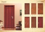 供应复合实木水曲柳白色开放漆烤漆门