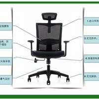供应西安欧乐转椅JY CH-133A老板椅 网布椅