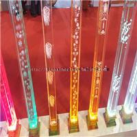 天鑫星工艺水晶玻璃柱美观大方