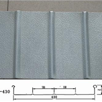 YX65-430铝镁锰直立锁边屋面压型板