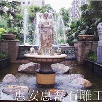石雕喷泉欧式园林大型喷泉雕塑庭院流水喷泉