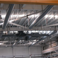 纤维布风管完美适应高架库结构特点