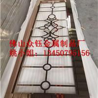 供应不锈钢双面焊接工艺花格屏风