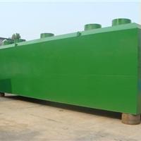 潍坊屠宰场地埋式一体化污水处理设备厂家