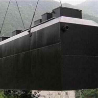 山东潍坊鱼塘地埋式一体化污水处理设备型号