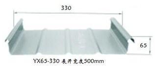 供应海南YX65-430直立锁边铝镁锰屋面板