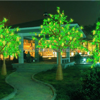 供应LED树灯樱花树仿真树苹果树具