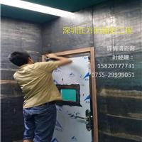 放射科装修射线防护门电动铅门牙科防辐射门