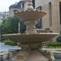 黄锈石喷泉加工厂,石雕喷泉跌水价格