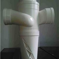 厂家直销正亚PVC特殊单立管旋流平面四通