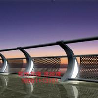 供应桥梁铁艺护栏 灯光桥梁护栏