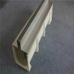 供应U型树脂排水沟 成品排水槽  缝隙式