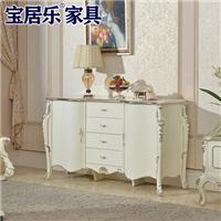 供应欧式装饰柜实木雕花储物柜储物柜