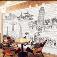 供应餐厅装修墙纸壁画 中式饭店背景墙壁纸