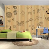 供应酒店餐厅壁纸定做 客厅无缝无纺布壁画