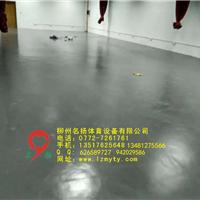 供应柳州工学院健身房PVC施工工程项目竣工