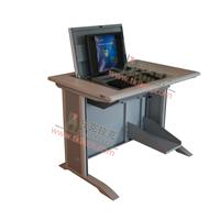托克拉克电脑翻转桌台面防火板鸭嘴边耐磨