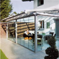 夏热天装置阳光房还是铝合金门窗降温好?
